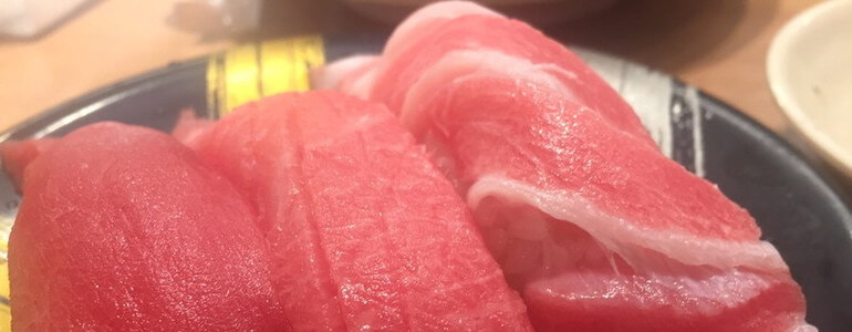 三貫の寿司